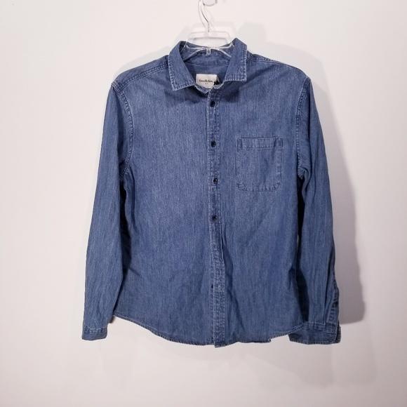 Goodfellow Other - |Goodfellow| Mens Denim Shirt  NWT